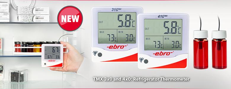 Ebro TLC 700/Term/ómetro de infrarrojos plegable Alcance de temperatura de 250//°C /° C 40/hasta